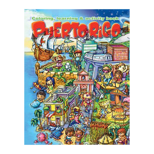puerto rico coloring book
