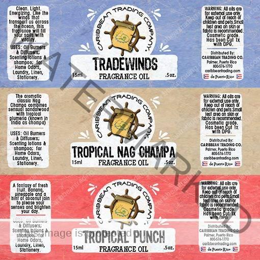 tropical fragrance oils