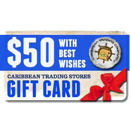 Caribbean Trading Stores $50 Puerto Rico Gift Certificate