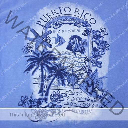 Fish Puerto Rico T Shirt