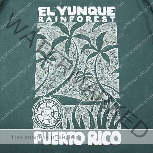El Yunque Mountain Palms T-Shirt