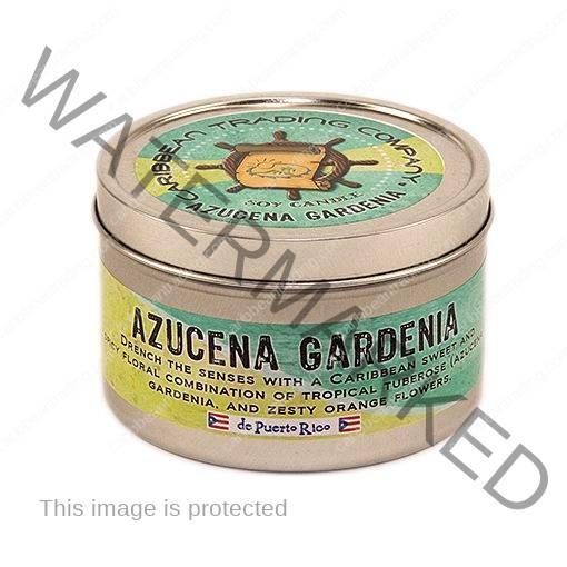 Azucena Gardenia 3oz. Tropical Candle