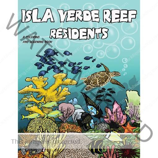 Isla Verde Reef Coloring Book