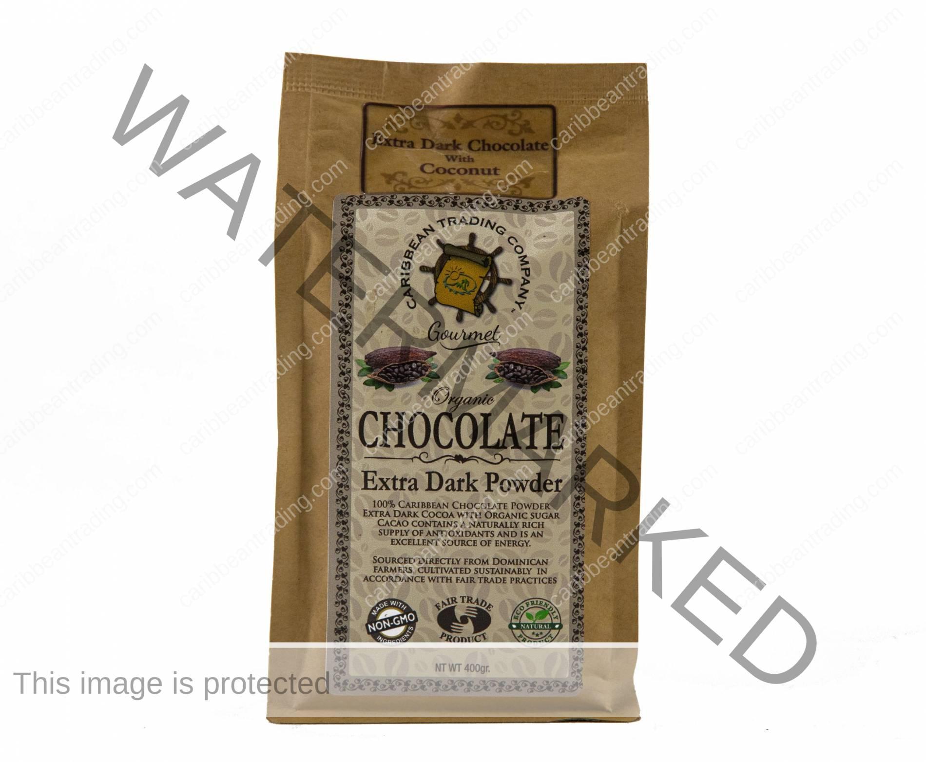 Organic Extra Dark Chocolate Powder - Coconut