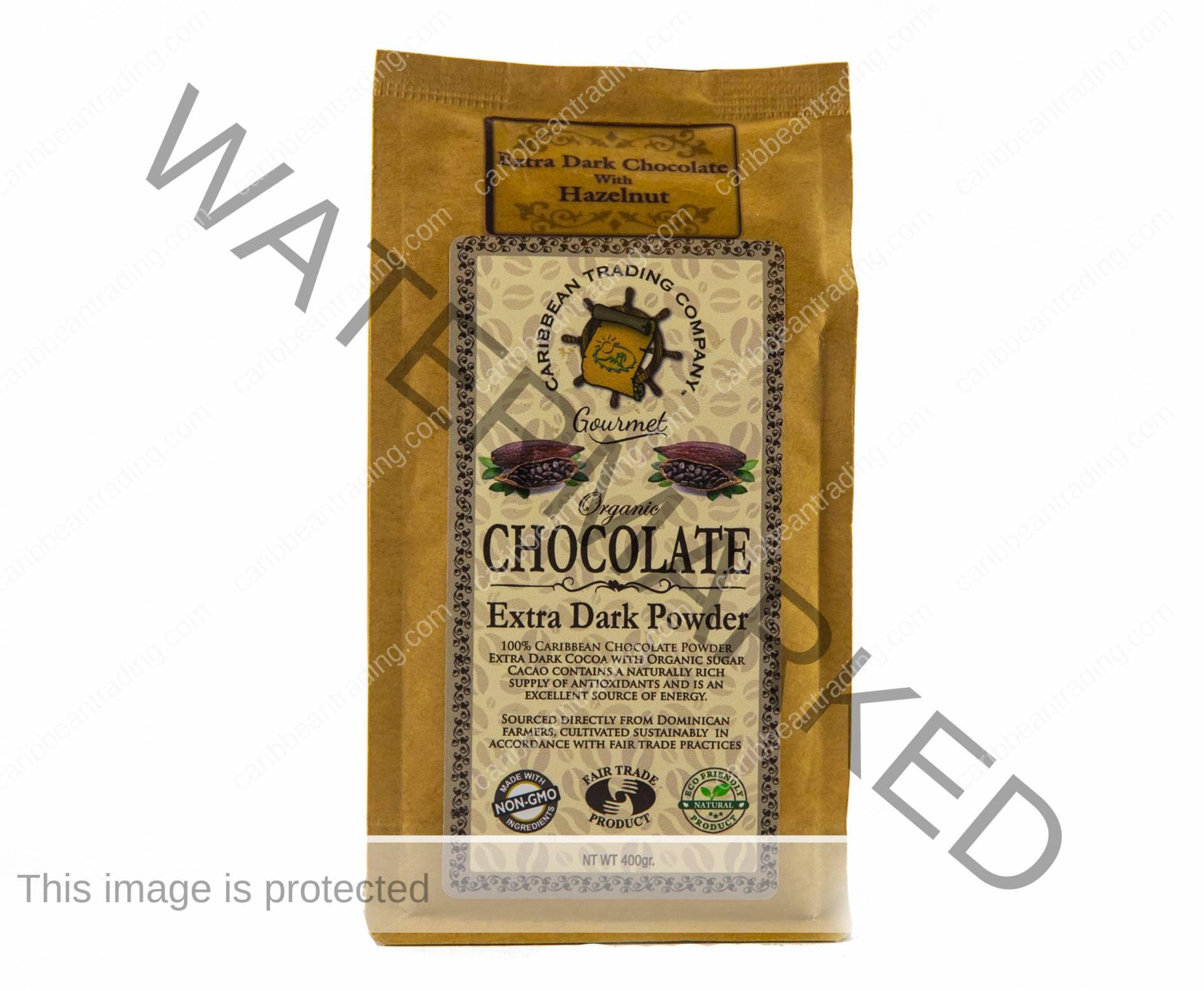 Organic Extra Dark Chocolate Powder - Hazelnut