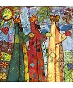 three kings art