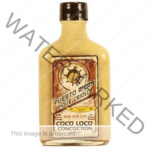Pique Criollo Coco Loco Concoction