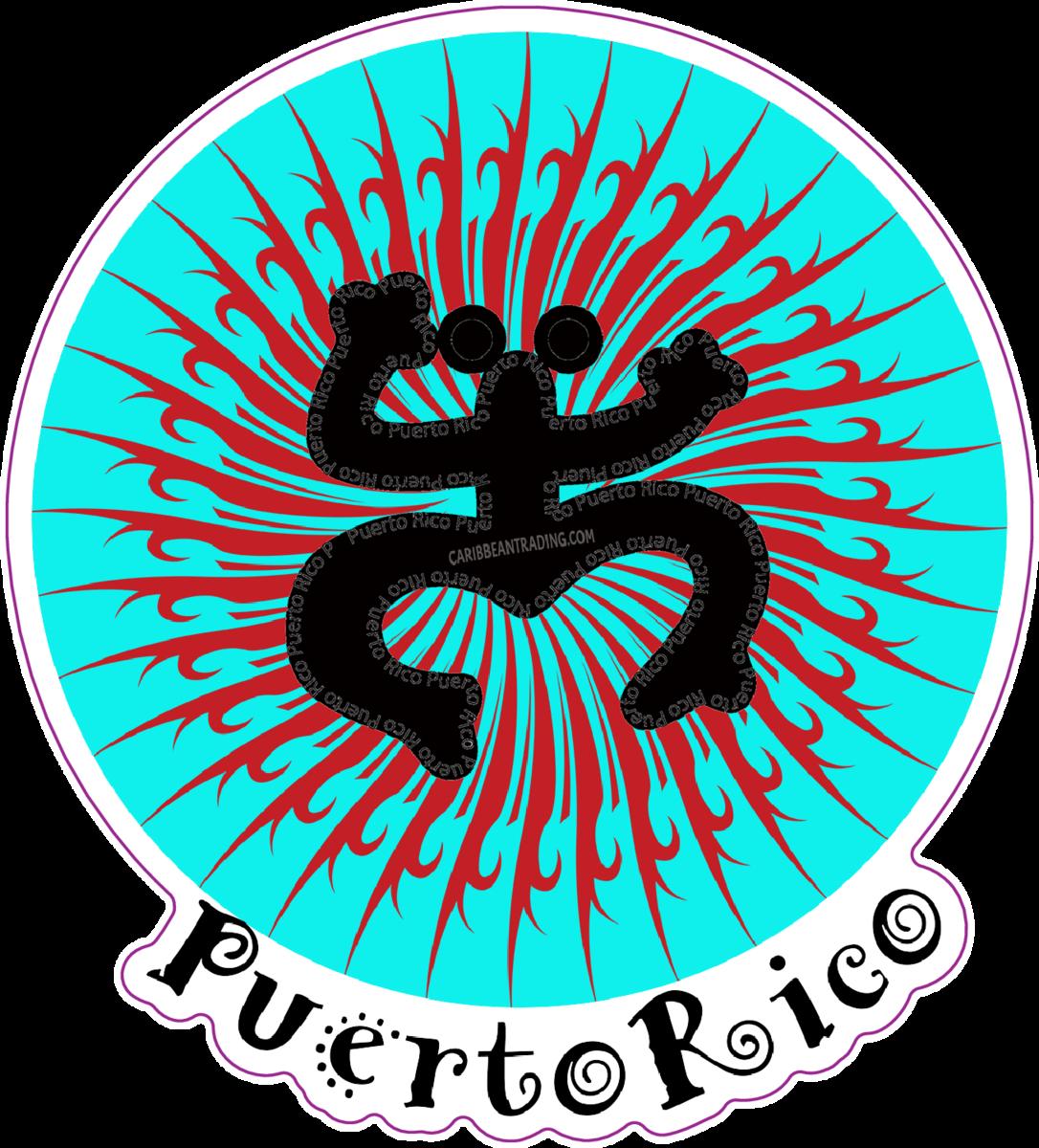Puerto Rico Taino Coqui Sticker w/ FREE SHIPPING!