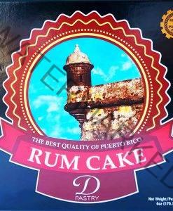 D'Pastry Rum Cake