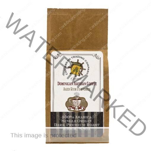 Dominican Single Origin Arabica Coffee Aged-Rum Flavored 8.8 oz.