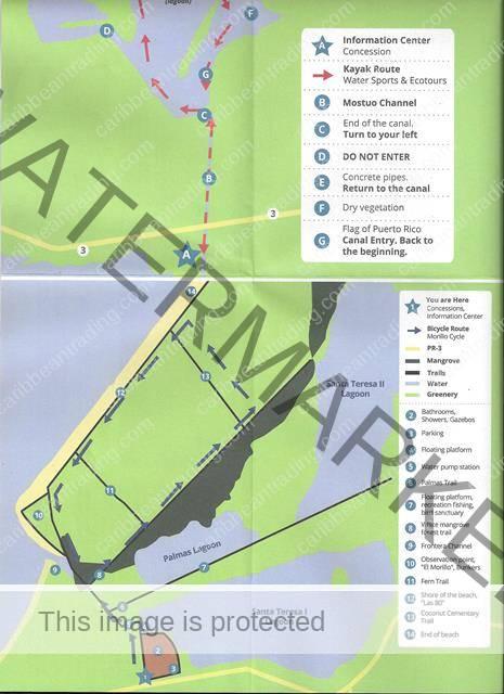 humacao reserve map caribbean trading company
