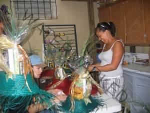 making gift baskets
