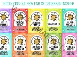 caribbean trading incense