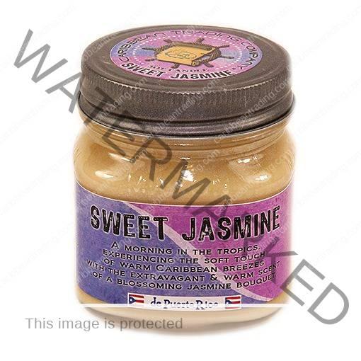 Sweet Jasmine 8 oz Candle - Mason Jar
