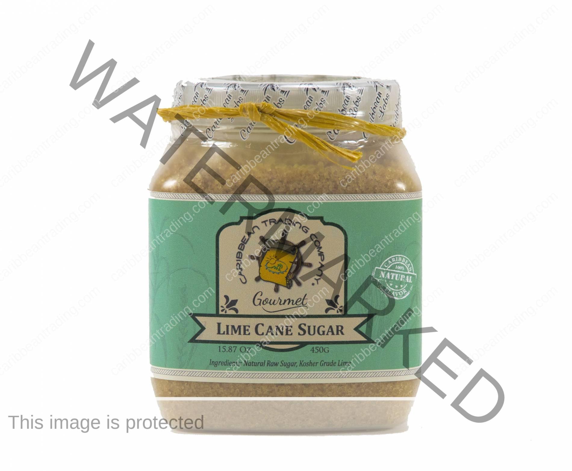 Lime Cane Sugar - 15.87 oz.