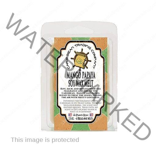 Mango Papaya Soy Wax Melt