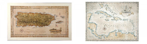 wholesale products antiqued maps