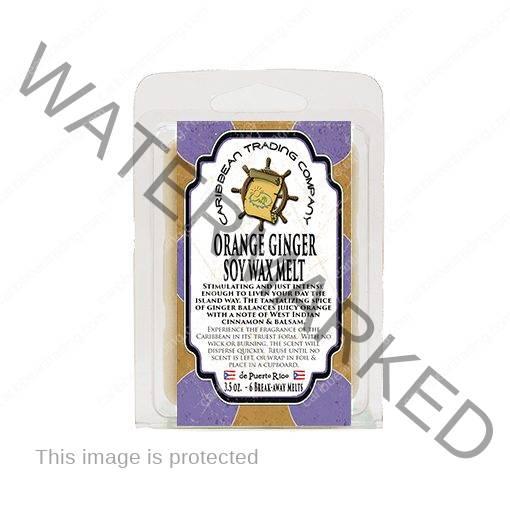Orange Ginger Soy Melts