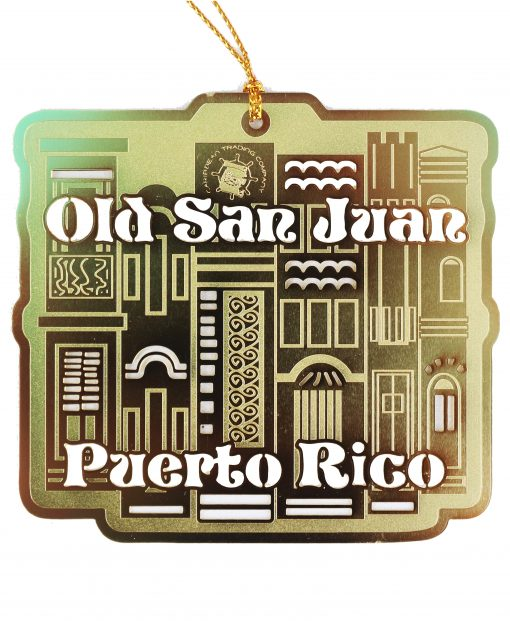 Old San Juan Brass Ornament