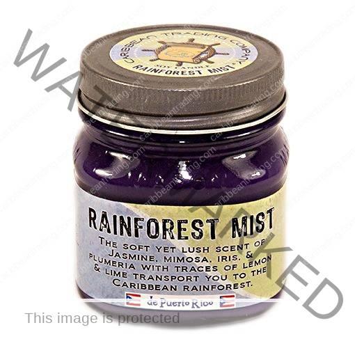 Rainforest Mist 8 oz. Mason Jar Candle