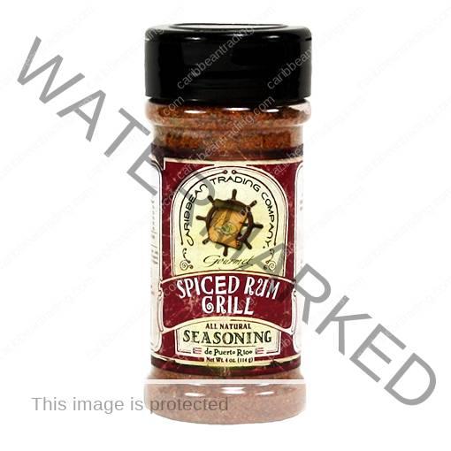 Spiced Rum Grill Seasoning