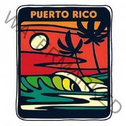 surf palm sticker