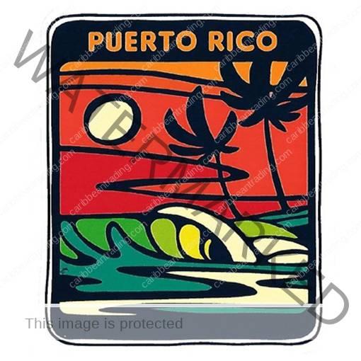 Surf Palm Sticker 510