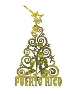 Puerto Rico Christmas tree ornaments