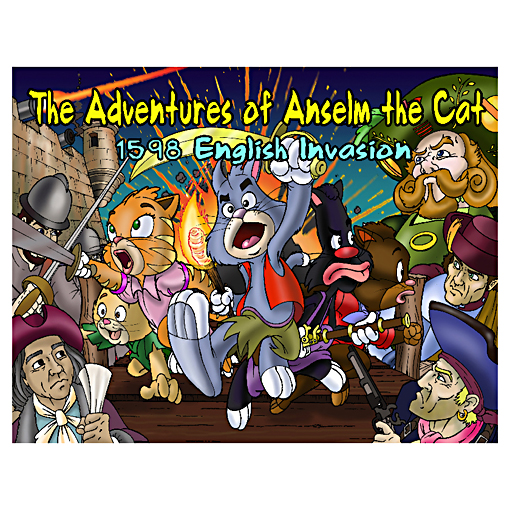 The Adventures of Anselm the Cat Children's Book