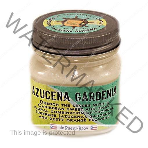 Azucena Gardenia 8 oz. Mason Jar Candle