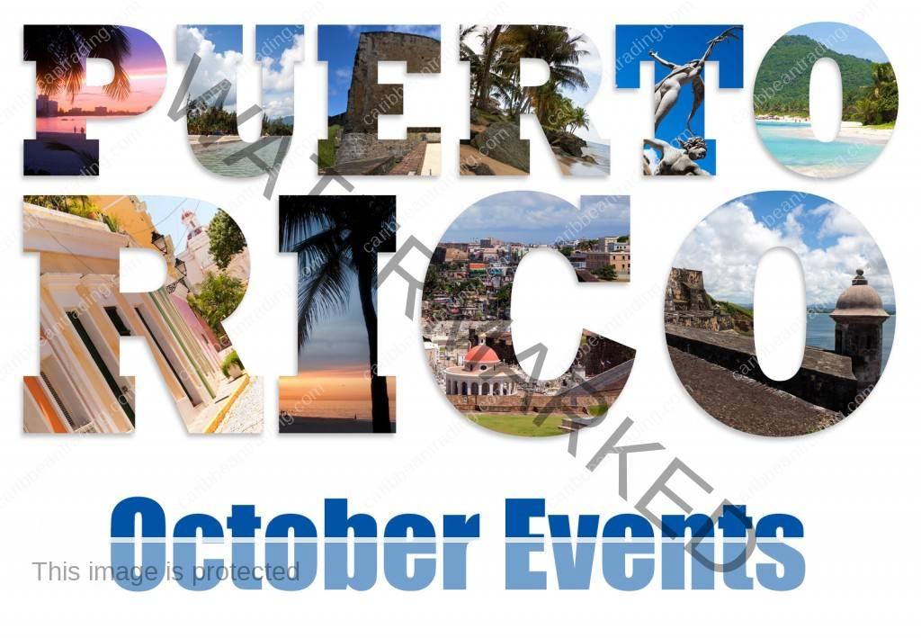 October Puerto RIco Events