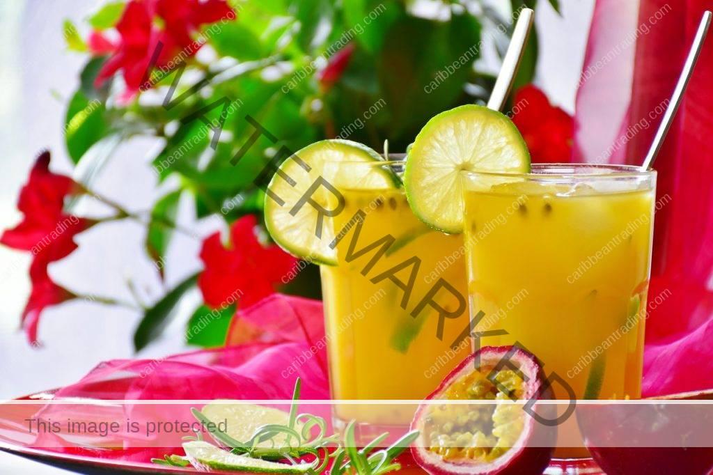 Passion Fruit Rum Cocktail