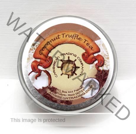 coconut truffle tea