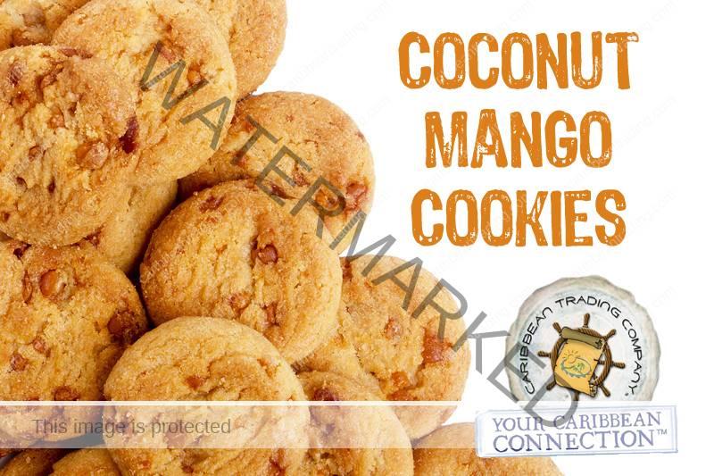 coconut mango cookies