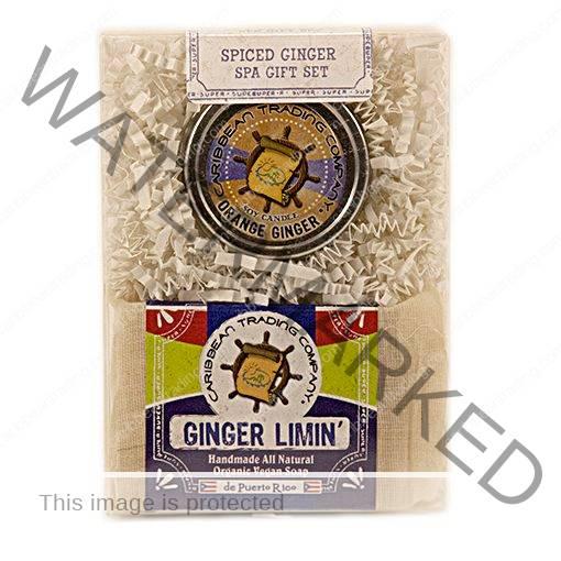 Spiced Ginger Spa Gift Set