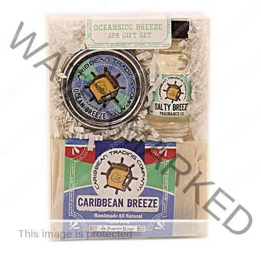 Oceanside Breeze Spa Gift Pack