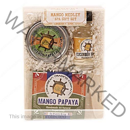 Mango Medley Spa Gift Set