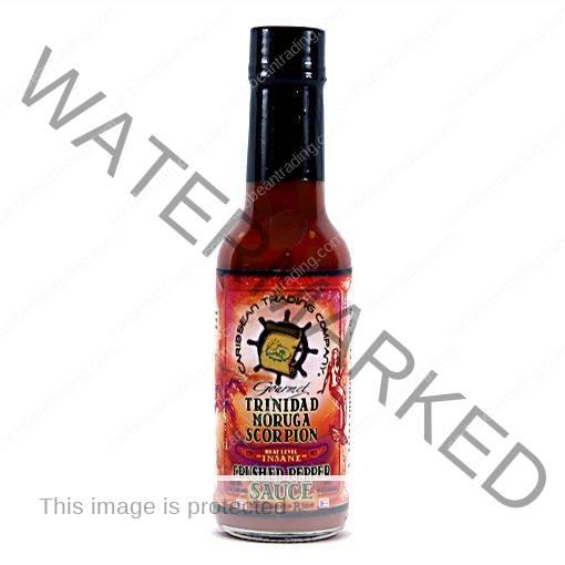 Trinidad Moruga Scorpion Crushed Pepper Sauce