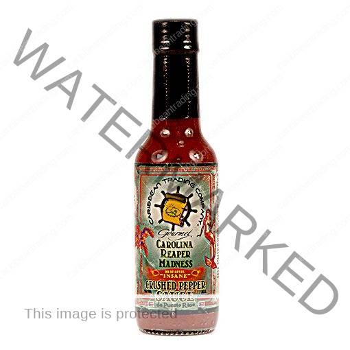 Carolina Reaper Madness Crushed Pepper Sauce