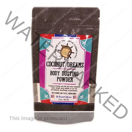 coconut body powder