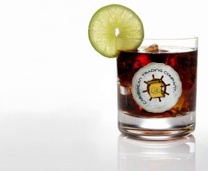 Rum and Coke with Lime