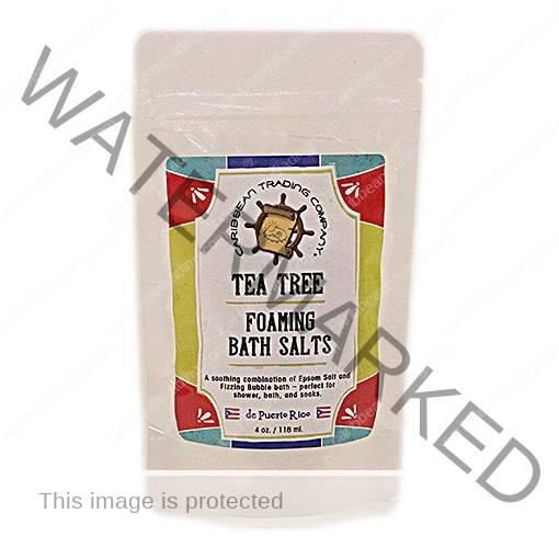 Tea Tree Foaming Bath Salt