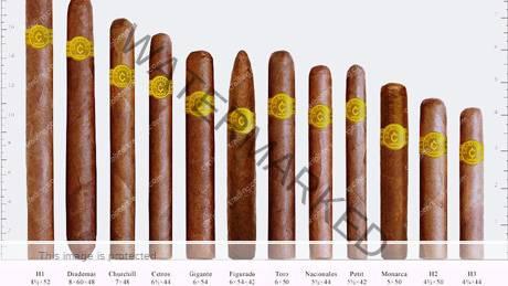 """cigar sizes"""