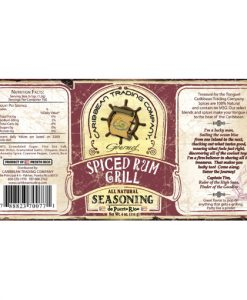 spiced rum grill seasoning