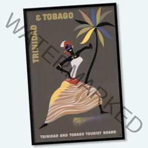 vintage caribbean travel posters
