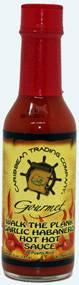 Caribbean Trading Company Walk the Plank Garlic Habanero Hot Hot Sauce